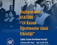 24 Kasım Öğretmenler Günü Etkinliği